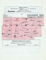 Douglas County Drainage Map, Douglas County 1956