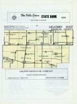 Douglas County Highway Map, Douglas County 1956