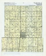 Tuscola Township, Hayes, West Ridge, Douglas County 1956