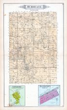 Hurricane Township, Bayle City, Loogootee, Hagerstown, Bingham, Fayette County 1891