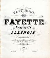 Title Page, Fayette County 1891