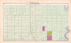 Vandalia City - North, Fayette County 1891