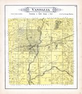 Vandalia Township, Bluff City, Hickory Creek, Brass Lake, Kaskaskia River, Fayette County 1891
