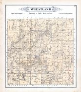 Wheatland Township, Loogootee, St. James P.O., Hickory Creek, Fayette County 1891
