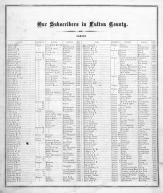 Patrons' Directory 001, Fulton County 1871