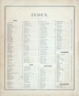 Index, Hancock County 1874