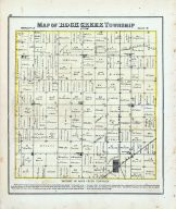 Rock Creek Township, Ferris, Webster, Pioneer, Douglas, Centre, Jefferson School, Lincoln, Hancock County 1874