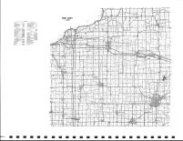 Henry County Highway Map, Henry County 1983