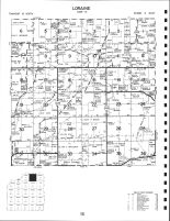 Loraine Township, Henry County 1983
