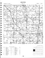 Western Township, Orion, Deer Run, Hope, Sunny Hills, Western Oaks, Henry County 1983