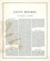 County Histories - Page 182, Illinois State Atlas 1876