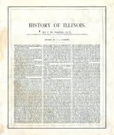History - State History -  Page 166, Illinois State Atlas 1876