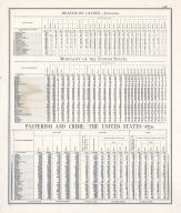 Statistics - Death by Causes, Mortality of the United States, Pauperism and Crime - Page 228, Illinois State Atlas 1876