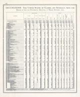 Statistics - Occupations - Page 221, Illinois State Atlas 1876