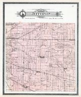 Jefferson Township, Besancon, Dawkins Station, Nail P.O., Zulu P.O., Maples, Allen County 1898