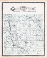 Marion Township, Hessen Cassel, Gohrman Station, Soest P.O., Williamsport, Middletown, Poe P.O., Allen County 1898