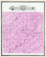 Milan Township, Maumee River, Chamberlain P.O., Allen County 1898