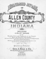 Title Page, Allen County 1898