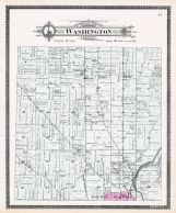Washington Township, Fort Wayne, Wallen, Academy, Allen County 1898