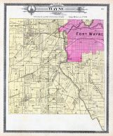 Wayne Township, Fort Wayne, St. Marys River, Allen County 1898