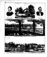 Allen Millikan, Mrs. John Saunders and Sons, Samuel L. Hamilton, C.S. Wesner, Boone County 1878 Microfilm