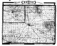 Boone County Map, Boone County 1878 Microfilm