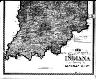 Indiana State Map - Below, Boone County 1878 Microfilm