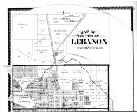 Lebanon City - Above, Boone County 1878 Microfilm