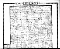 Marion Township, Union Township, Kimberlain, Slabtown, Rosston, Northfield - Above, Boone County 1878 Microfilm