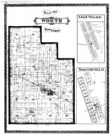 Worth Township, Eagle Village, Northfield, Whitestown, Boone County 1878 Microfilm