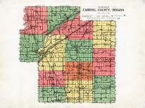 County Outline, Carroll County 1919