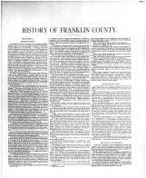 Franklin County History 001, Franklin County 1882 Microfilm