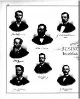 John G. Sauers, Z.T. Hutchinson, W.H. Green, A.M. Tucker, G.R. King, James F. West, J.M. Collins, Franklin County 1882 Microfilm