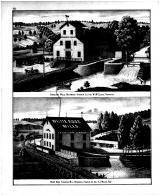 W. McClure - Crescent Mills, A.J. Miller - White Rose Flouring Mill , Franklin County 1882 Microfilm