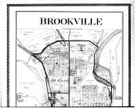 Brookville - Above, Franklin County 1882 Microfilm