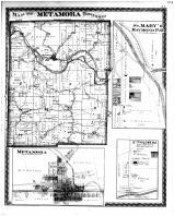 Metamora Township, St. Mary's Haymond P.O., St. Philomena, Oak Forest P.O., Franklin County 1882 Microfilm