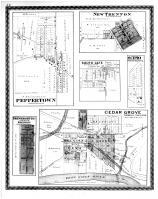 Peppertown, New Trenton, South Gate, Scipio, Cedar Grove, Drewersburg, Franklin County 1882 Microfilm