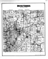Buck Creek Township, Mt. Comfort, Hancock County 1887