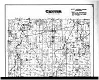 Center Township, Maxwell P.O., Mohawk, Greenfield - Above, Hancock County 1887