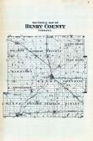 County Sectional Map, Henry County 1875