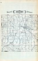 Henry Township, Henry County 1875