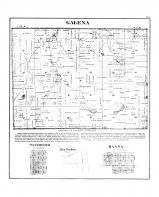 Gelena Township, Waterford, New Durham, Hanna, La Porte County 1874