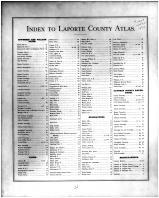 Index, La Porte County 1874