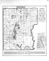 Lincoln Township, Kingsbury, La Porte County 1874