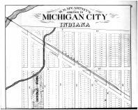 Michigan City - W.B. McCartney Add. - Above, La Porte County 1874
