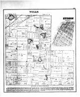 Wills Township, Hudson, La Porte County 1874