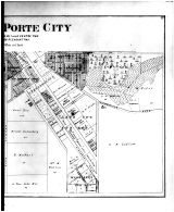 La porte city south right atlas la porte county 1892 for City of laporte indiana jobs