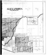 Alexandria East Central, Leisure P.O. - Right, Madison County 1901