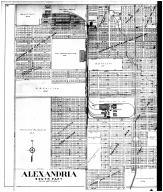 Alexandria South, Alexandria Outline Map - Left, Madison County 1901