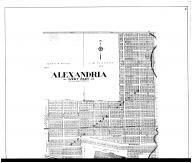 Alexandria West - Above, Madison County 1901